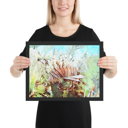 Framed Print - Reef Creature Clothing